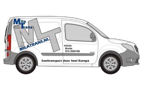 Mila Transport Mercedes Citan